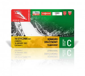 tickets WC 2021 sektor C 16/01